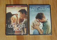 The Longest Ride & Safe Haven ~ DVD ~ NEW/SEALED ~ 2 Nicholas Sparks Movies