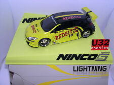 NINCO 50591 SLOT CAR RENAULT MEGANE TROPHY'09 #10 BEDELCO LIGHTNING  MB
