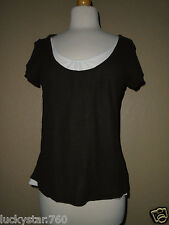 MICHAEL KORS BROWN WOMAN'S TOP SIZE  MEDIUM