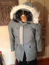 Vietnam N - 3A USAF Flight Pilot Snorkle Parka Jacket Size Men's Small