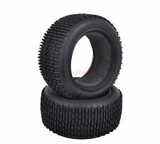 2PCS RC 1:10 Off-Road Buggy Car Front Foam Rubber Tyre Tires 7005F