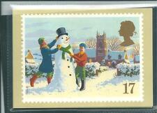 wbc. - GB - PHQ CARDS - 1990 - CHRISTMAS -  COMP. SET MINT