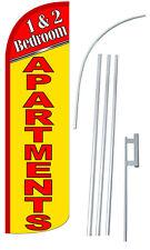 30% Wider SUPER SWOOPER  1&2 BEDROOM APARTMENTS  Flutter Banner Flag
