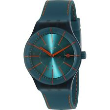 Swatch Originals Green-Tone Dial Silicone Automatic Ladies Watch SUTG400
