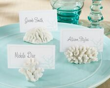 Coral Beach Theme Place Card Holders-Set of 6-NEW