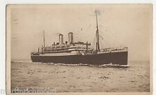 Orient Liner S.S. Orford Shipping Postcard, B524
