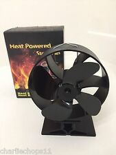 New 2016 Heat Powered Stove Fan Modern Round Design Wood Burning Stove Fan