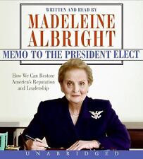 MADELEINE ALBRIGHT: Memo to the President Elect. UNABRIDGED 8CDs, New Sealed
