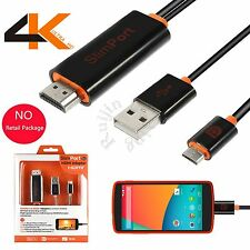 SlimPort MyDP To HDMI HDTV Full HD Adapter Cable For Google Nexus 4 5 7 LG G2 G3