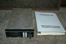 "II Morrow Apollo Model 604 Loran-C Navigation Receiver w/ Manual ""AS IS"""