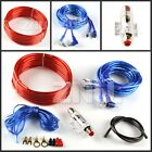 1200W 8 Gauge Ga Car Audio Amplifier Amp Installation Wiring Wire Kit+ RCA Fuse