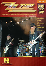 ZZ Top Guitar Play Along 8 Songs! DVD NEW!