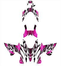 Yamaha FX Nytro 2008 2009 2010 2011 2012 2013 2014 Graphics Wrap Kit #2500 Pink