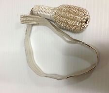 US Civil War & Foreign Armies - White & Silver Sword Knot