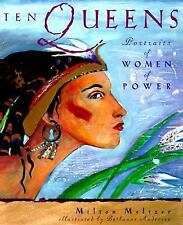 Ten Queens: Portraits of Women of Power-ExLibrary