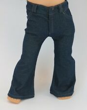 "Denim Flared Leg Jeans fit 18"" American Girl Dolls - Clothes - Pants"