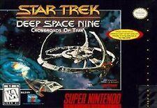 Star Trek Deep Space Nine: Crossroads of Time, (SNES)