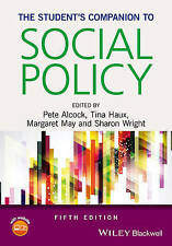 The Student′s Companion to Social Policy, Pete Alcock