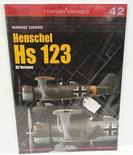 Kagero Publishing - Top Drawings 42 - Henschel Hs 123 - All Versions        Book