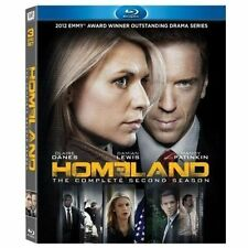 Homeland: Season 2 (Blu-ray Disc, 2013, 3-Disc Set)