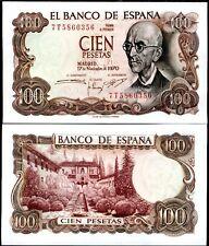 SPAGNA Spain - 100 pesetas 1970 FDS - UNC