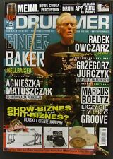 GINGER BAKER  mag.FRONT cover The Cream,Mike Portnoy,Billy Sheehan