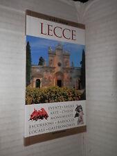 LECCE William Dello Russo Mondadori 2007 libro viaggi manuale corso turismo di