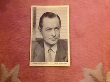 POSTCARD -Robert Montgomery S tar Souvenir Series, movie film cinema actror