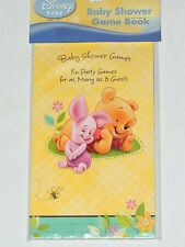 BABY  ~WINNIE THE POOH  & FRIENDS~ 1-BABY SHOWER GAME BOOK HALLMARK FAVOR  PARTY