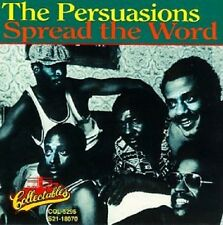 Persuasions - Spread The Word - New Factory Sealed CD