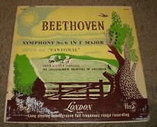 Beethoven Symphony No 6 Pastoral Kleiber~Original 1953 Press~VG++~FAST SHIPPING!