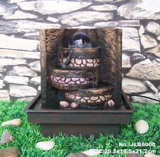 Feng Shui Water Fountain with Running Crystal Ball and LED Light