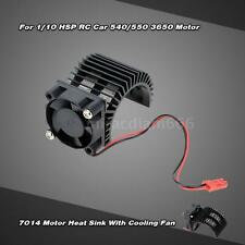 7014 Motor Heat Sink w/ Cooling Fan for 1/10 HSP RC Car 540/550 3650 Motor C5K5