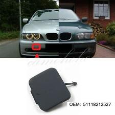 Front Bumper Tow Eye Hook Cover Trim Cap For BMW 5 Series E39 1997-2003 Primer