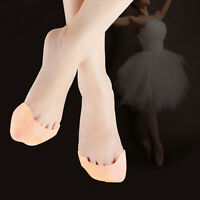 1 Pair Professional Girl's Soft Silicone Gel Toe Ballet Pointe Dance Shoe Pads