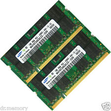 2GB (2x1GB) DDR2-533 PC2-4200 Laptop (SODIMM) Memory RAM 200-pin