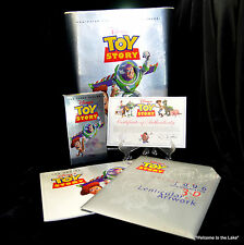 "DISNEY - ""TOY STORY"" Boxed Deluxe Video Edition (VCR), Book, Lenticular Art"