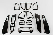 Chrome Interior Carbon Cover Trim for 11-13 Hyundai Tucson iX35 w/ Tracking No.