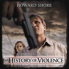 A History of Violence [Original Score] by Howard Shore  (CD,2005 New Line)SEALED