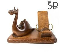 Exclusive Wood carved iPhone 5 4S 4 3GS *Dragon* table stand for mobile phone