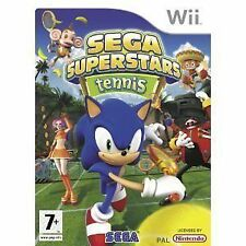 Sega Superstars Tennis (Nintendo Wii, 2008) NEW AND SEALED UK PAL