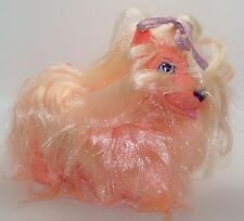 Vintage Hasbro Sweetie Pups Dog Puppy Party Time Pink Miniature Schnauzer