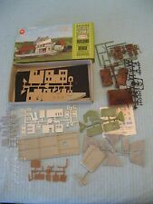 Aurora Postage Stamp N Scale Rural Station 4112-250 Unassembled w/ Box & Decals