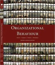 Organizational Behaviour, Canadian Edition , 2nd Edition-ExLibrary