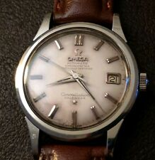V Rare 1960 OMEGA Constellation Calendar Gents Automatic Watch. Ref:2843 6 SC