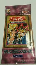 YUGIOH Vol. 6 Booster Pack Duel Monsters mint Japanese  qty avai