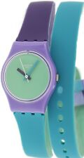 Swatch Women's Originals LV117 Multi Silicone Swiss Quartz Watch