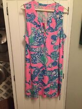 Lilly Pulitzer NWT  Essie Dress Pink Pout Barefoot Princess XL