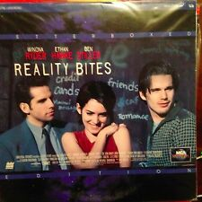 Reality Bites / Letterboxed  - LASERDISC  Buy 6 for free shipping