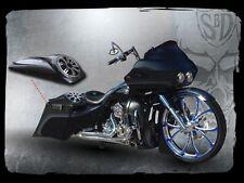 """Harley Crazy 8 Speaker Lids 8"""" Saddlebag  1997-2013 JL AUDIO"""